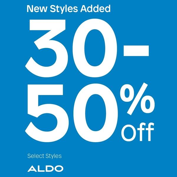 Aldo Get 30 to 50% Off Sale Styles image
