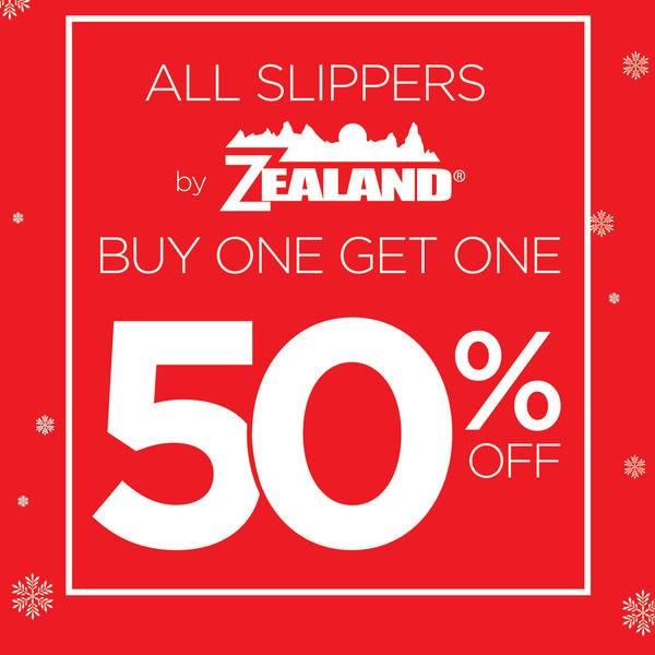 The Walking Company Zealand Slippers BOGO 50% Off image