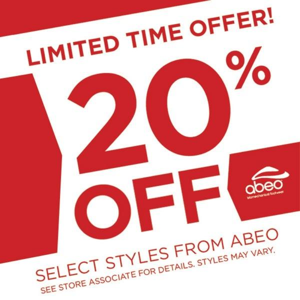 20% off Select ABEO® Performance Sandals image