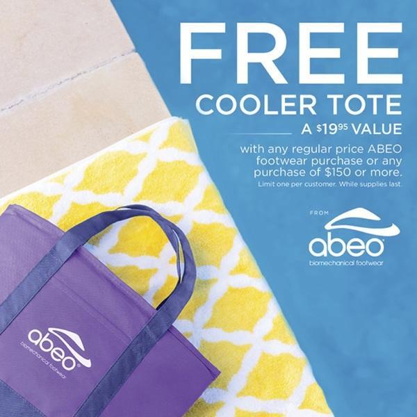 Free ABEO® Cooler Tote image