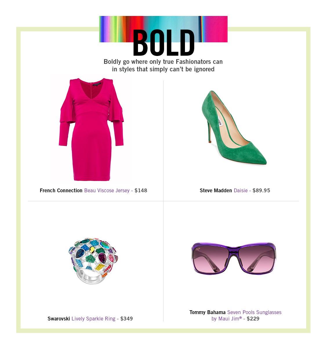 Spring Fashion 2018 Bold