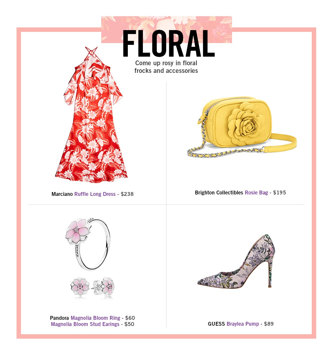 Spring Fashion 2018 Floral