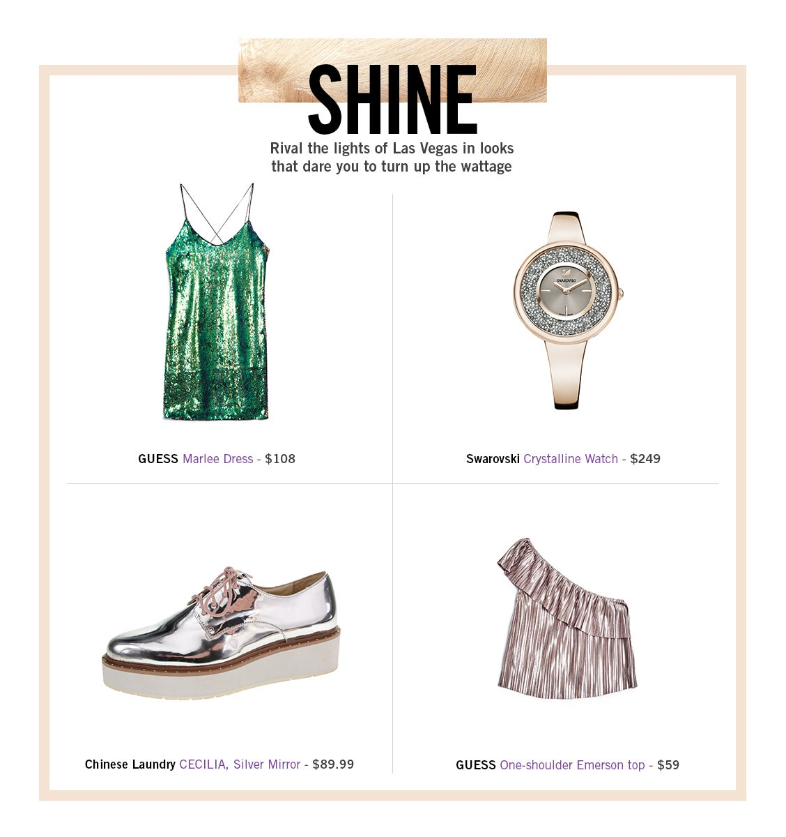 Spring Fashion 2018 Shine