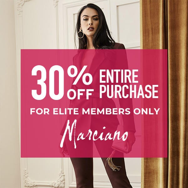 30% Off Entire Purchase for Elite Members Only* image