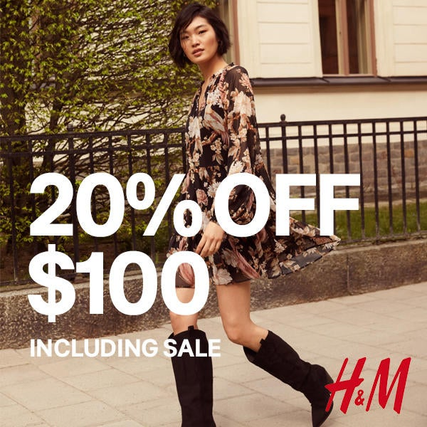 20% Off $100 including Sale  image