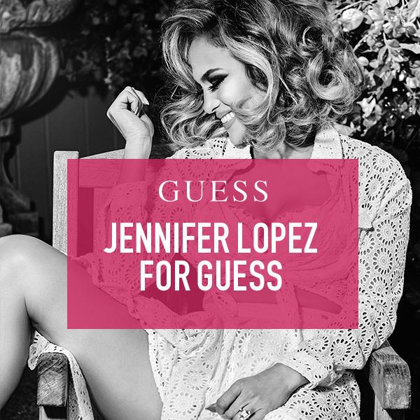Jennifer Lopez for GUESS image