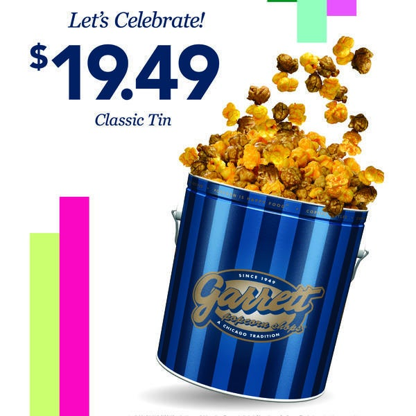 70 years of Handcrafted Happiness at Garrett Popcorn Shops! image