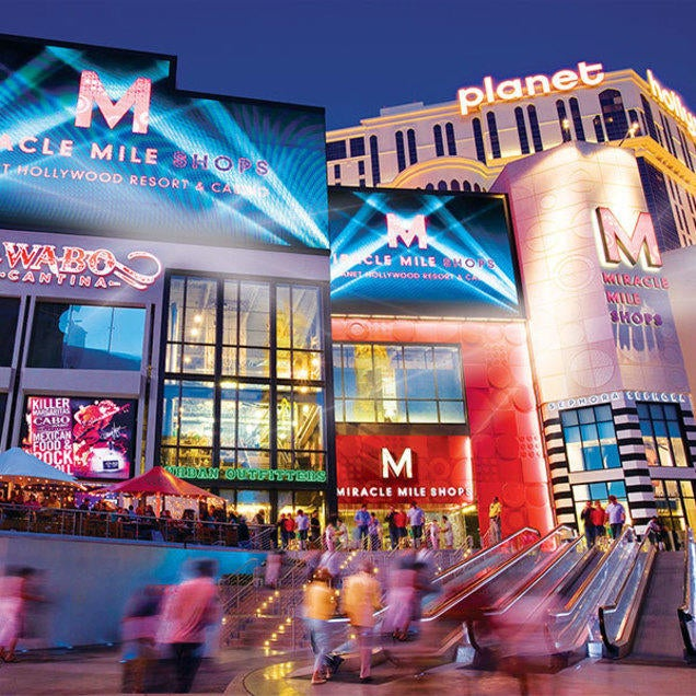 Tourism | Miracle Mile Shops, Las Vegas