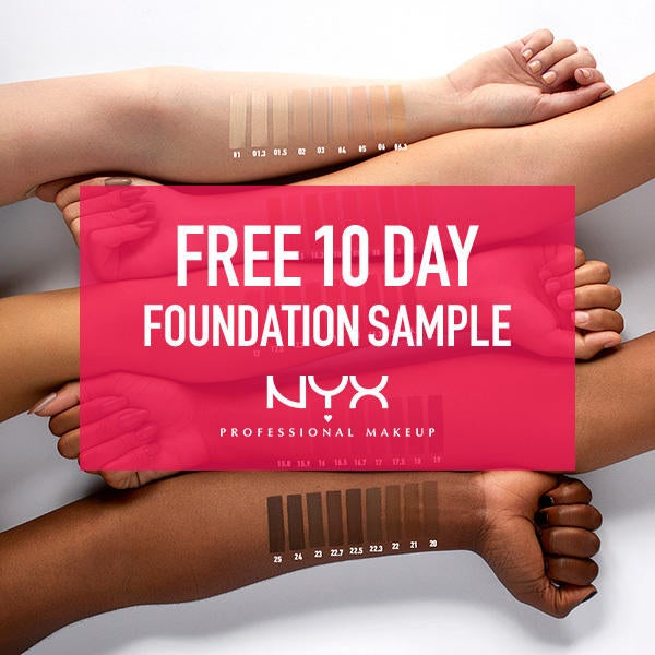 NYX Professional Makeup Free 10 Day Foundation Sample image