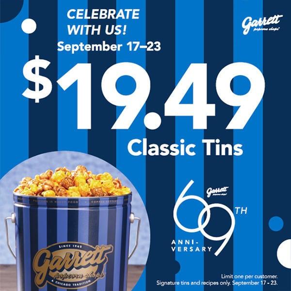 $19.49 Anniversary Classic Tins image