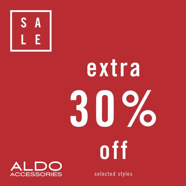 Aldo Accessories Extra 30% Off  image