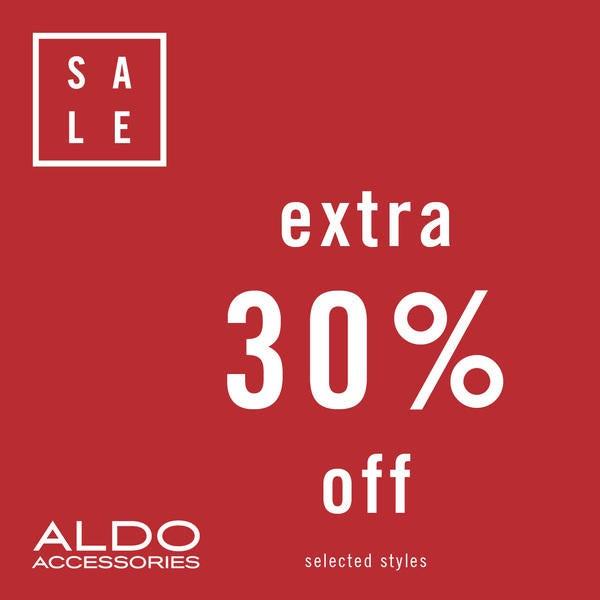 Aldo Accessories Extra 30% Off  image