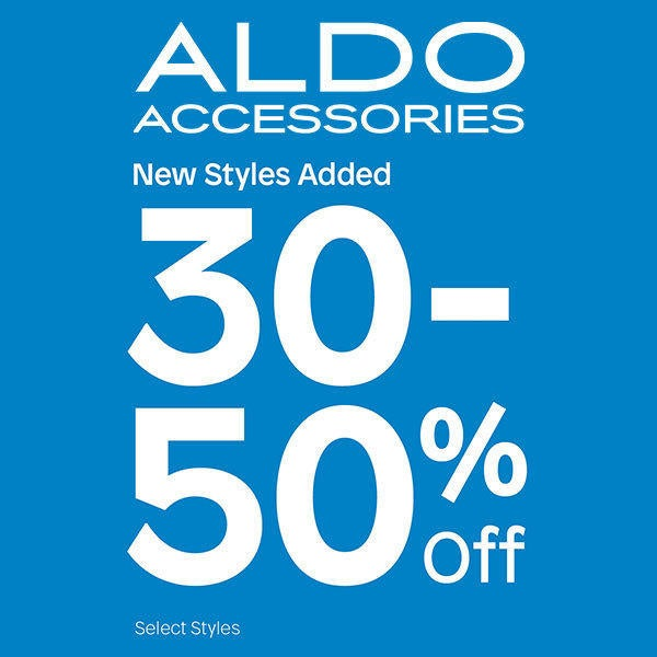 ALDO Accessories Get 30 to 50% Off Sale Styles image