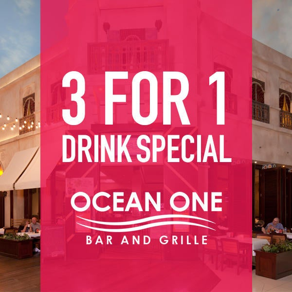 Ocean One Bar & Grille Drink Special image