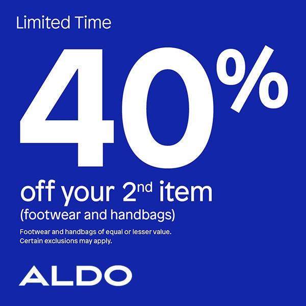 Aldo Get 40% Off your 2nd item image