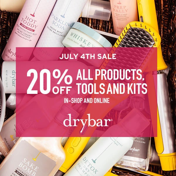 Drybar July 4th Sale image