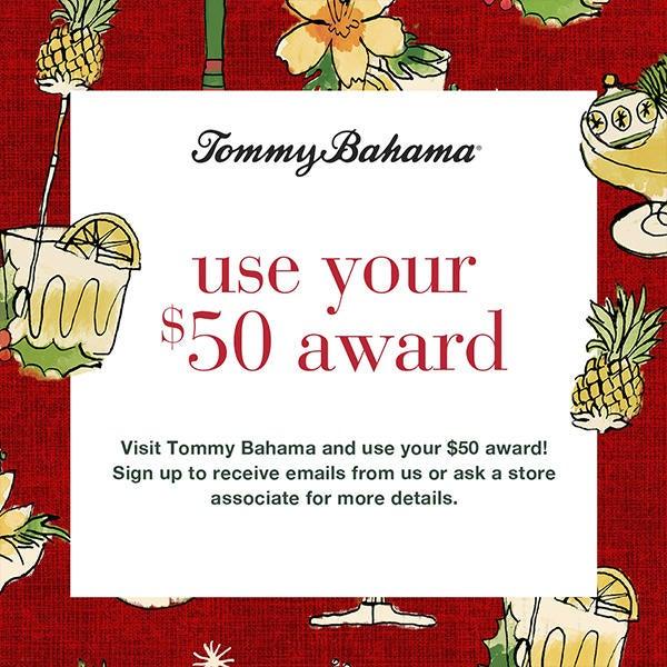 USE YOUR $50 AWARD image