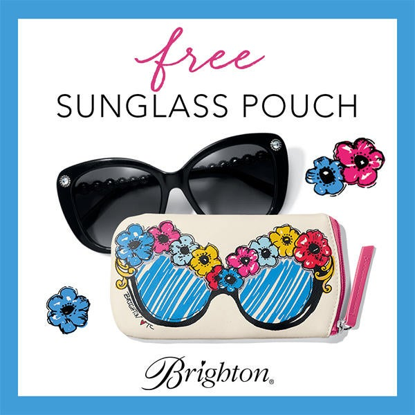 Our Gift To YOU – BRIGHT EYES Sunglass Pouch  image