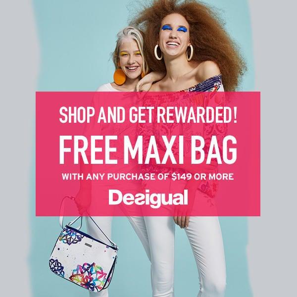 Desigual - Shop and Get Rewarded image