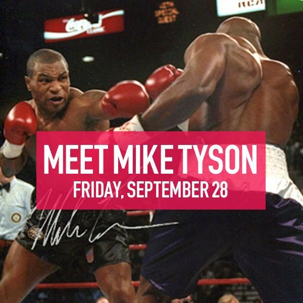 Meet Mike Tyson on September 28 image
