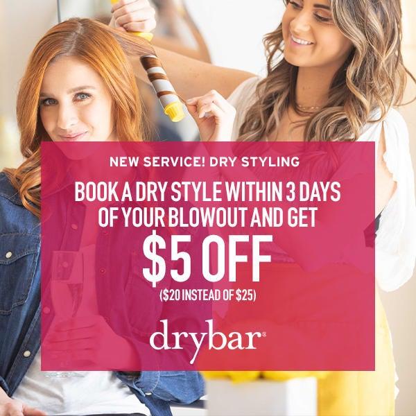 Drybar New Service! Dry Styling image