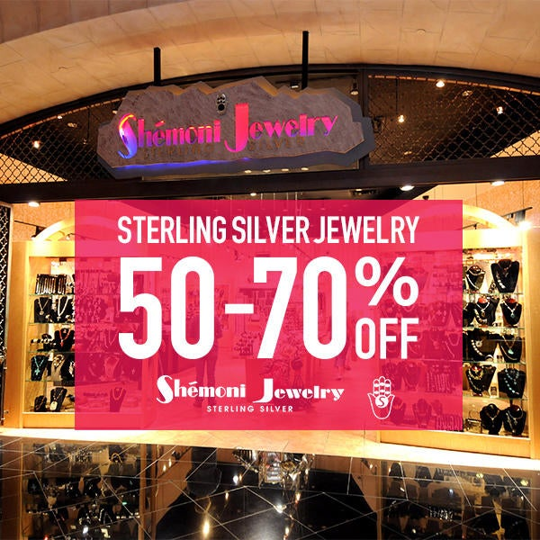 Sterling Silver Jewelry 50% to 75% Off image