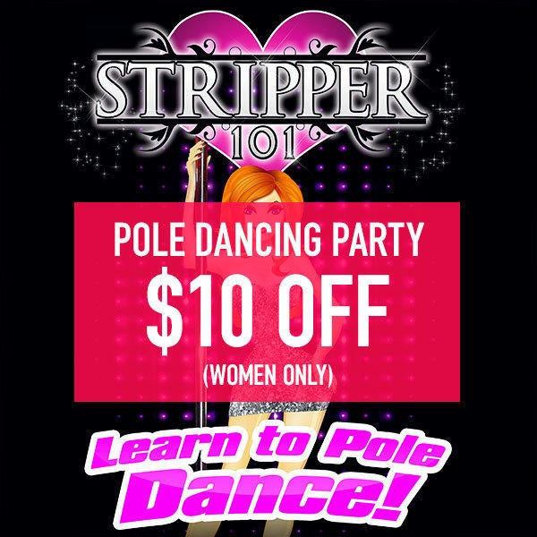 STRIPPER 101 POLE DANCING PARTY $10 Off (women only) image