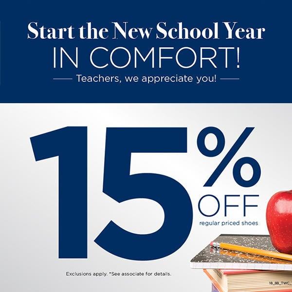 15% Off Teacher Appreciation image