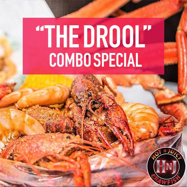 """Hot N Juicy Crawfish """"The Drool"""" Combo Special image"""