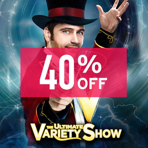 V – THE ULTIMATE VARIETY SHOW 40% Off  image