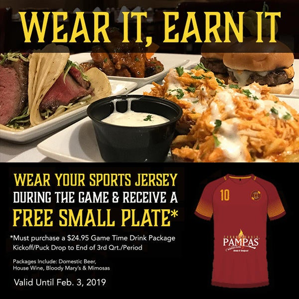 Wear a Jersey, Receive a Plate image
