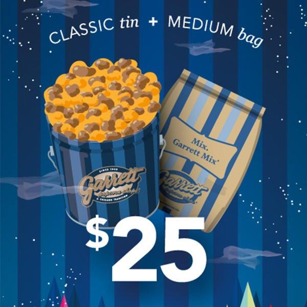 Classic Tin + Medium Bag for just $25! image