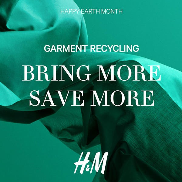 H&M Garment Recycling Bring More Save More image