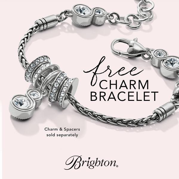 Brighton Collectibles Free INFINITY SPARKLE Slide Bracelet image