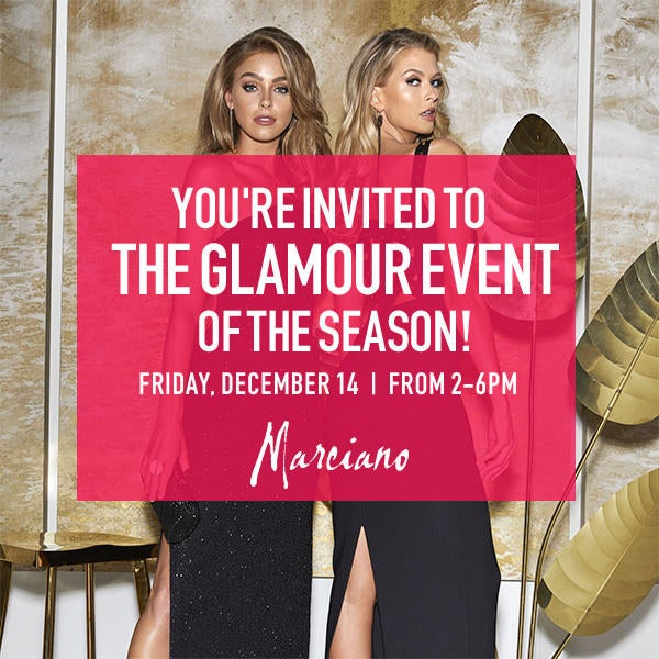 Marciano  You're Invited!  image