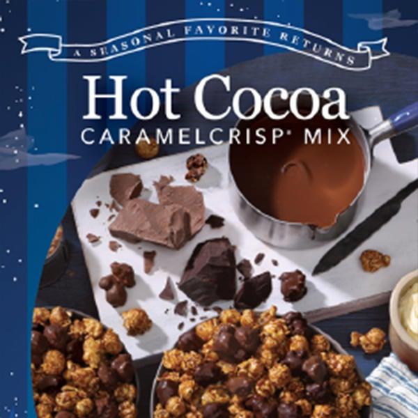 Garrett Popcorn Hot Cocoa CaramelCrisp Mix image
