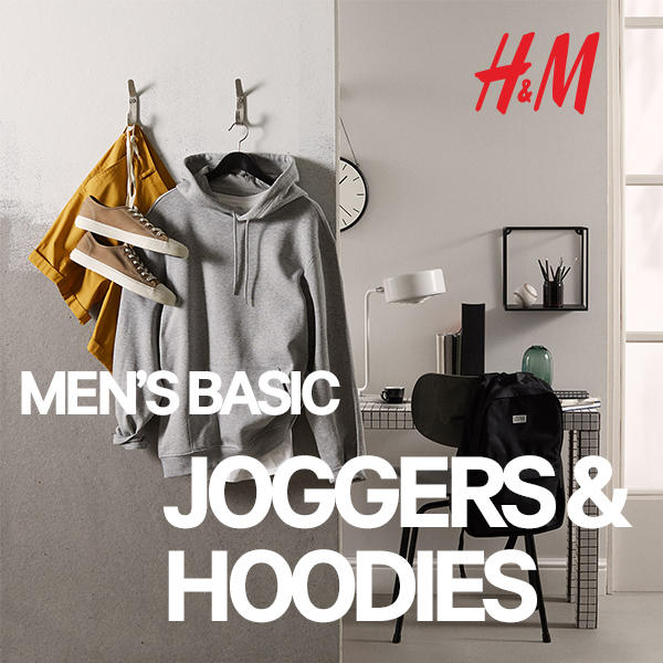H&M Men's Basic Joggers and Hoodies image
