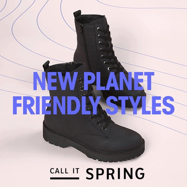 Call It Spring: Introducing Our New Planet Friendly Styles image