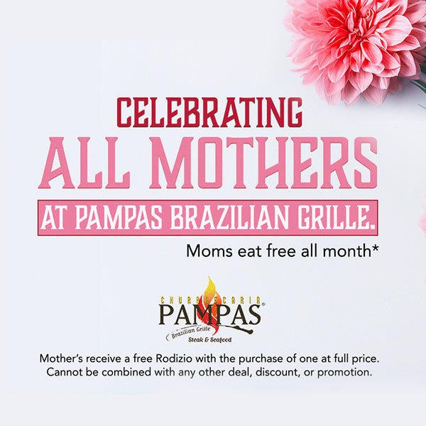 Mothers Eat Free in May image