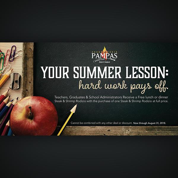 Grads, Teachers, & School Administrators Eat Free image