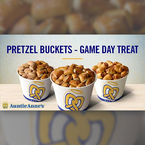 Pretzel Buckets - Perfect Treat For Your Party! image