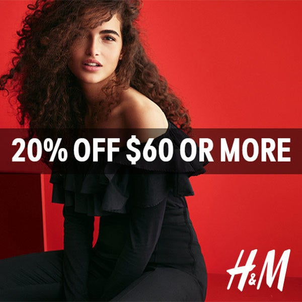20% Off Purchases of $60 Or More image