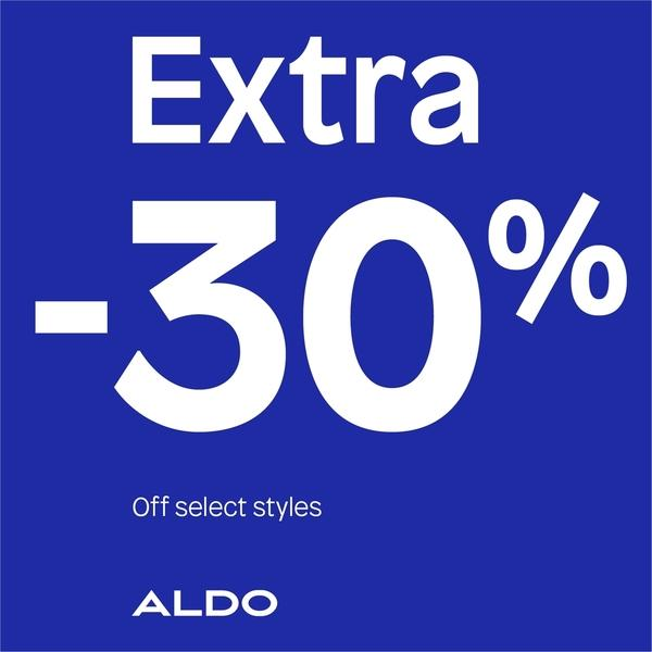 Aldo 30%  off Ladies' Sandals and Sneakers  image