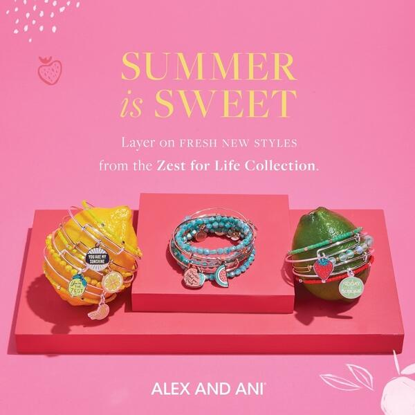 Alex and Ani Summer image