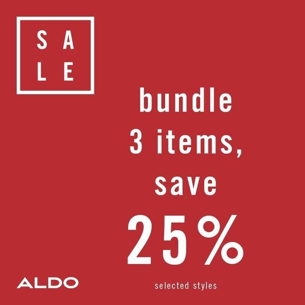 Aldo Accessories Bundle 3 & Save 25% Off  image
