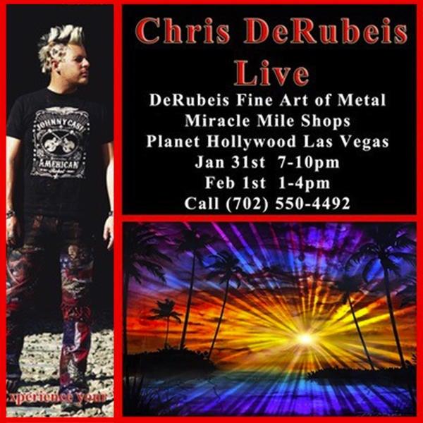 Chris DeRubeis In-Store! image