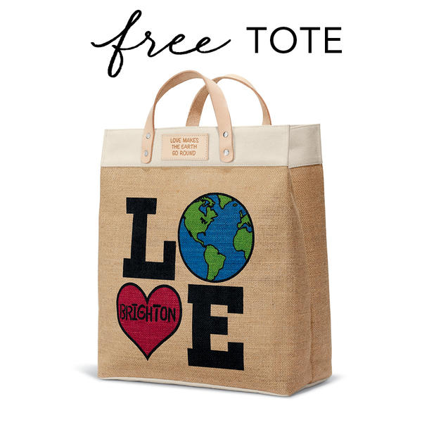 Brighton Collectibles FREE Gift - Love The Earth Tote image