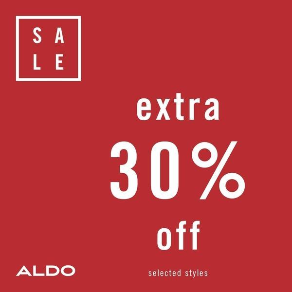ALDO Extra 30% Off Sale Styles image