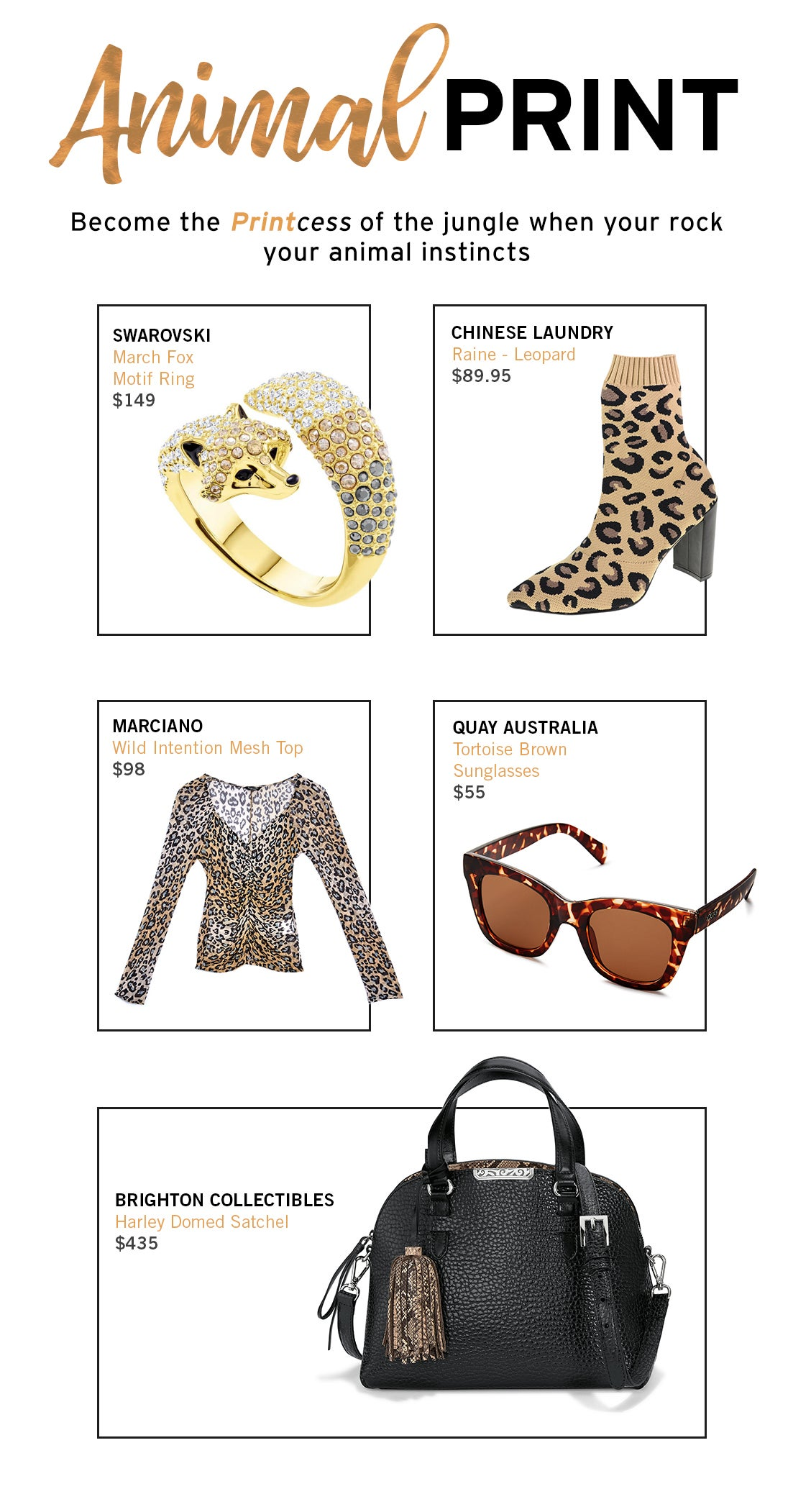 Fall Fashion Animal Print