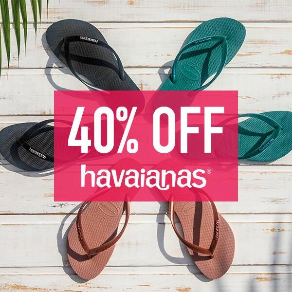 40% off at Havianas image
